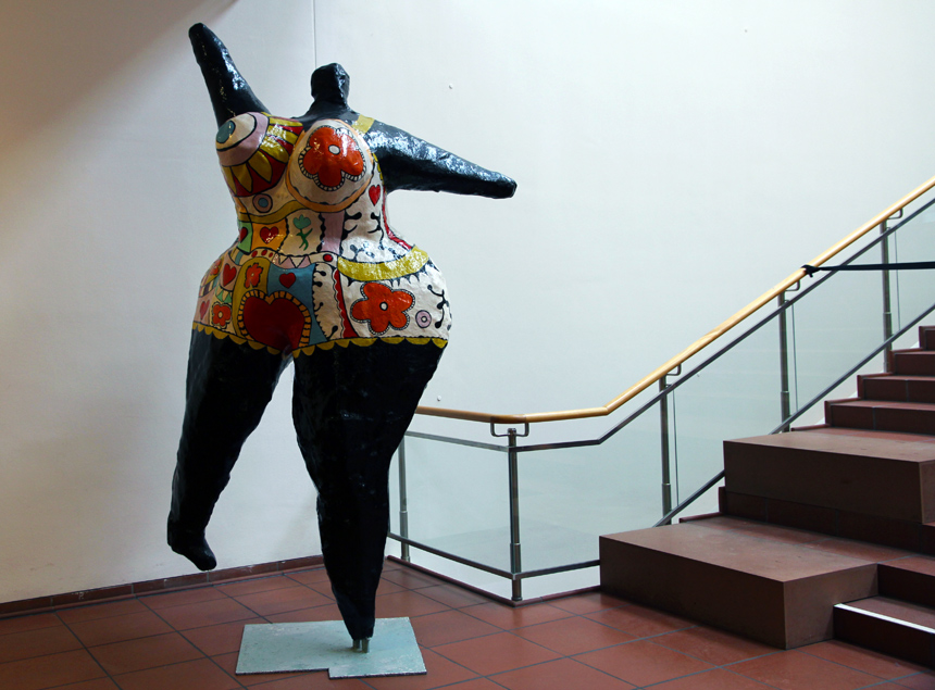 Niki de Saint Phalle Black Nana