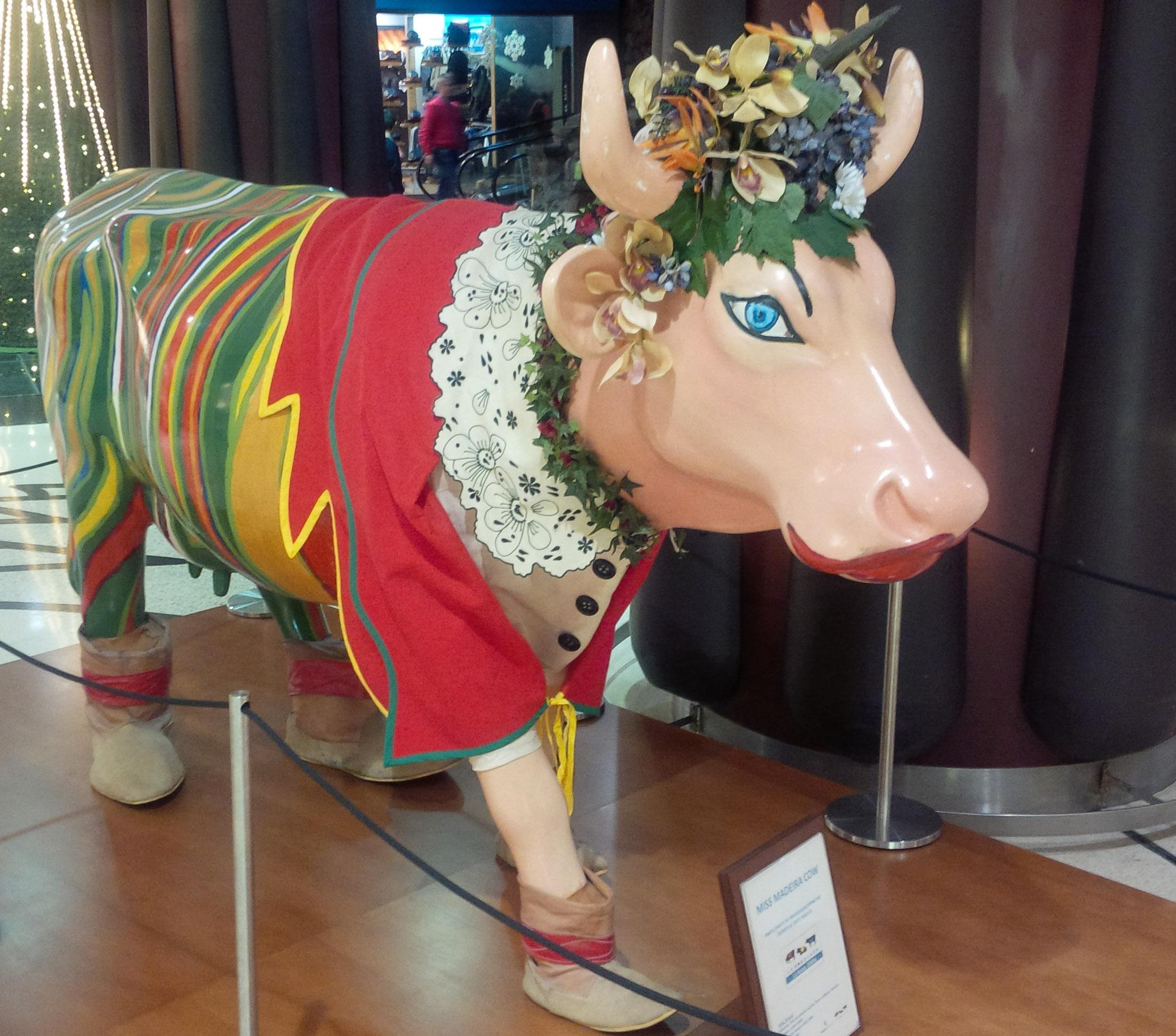 Cow Parade Miss Madeira