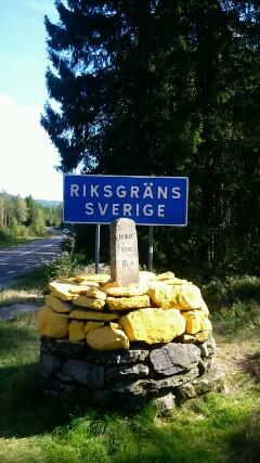 Grenze Norwegen / Schweden
